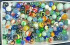 Lot of 200 + Estate Sale Find Vintage  Contemporary Glass Marbles With Shooters