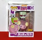 Funko Pop Invader Zim: Zim and Gir on the Pig Ride Exclusive #41 Hot Topic
