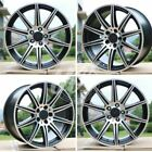 NEW 18 E63S STYLE STAGGERED WHEELS FITS MERCEDES BENZ E CLS CLASS SET 4