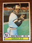 Eddie Murray Cards, Rookie Cards and Autographed Memorabilia Guide 11