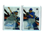 2015 Topps High Tek Jacob DeGrom and Noah Syndergaard 2 Card Auto Lot