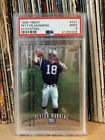 1998 Topps Finest #121 Peyton Manning Indianapolis Colts RC Rookie PSA 9 MINT