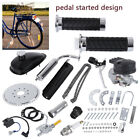Motor Motorized Engine Kit Full Set 80 CC 2 Cycle Gas Bike Bicycle Moped Scooter