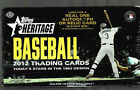 2012 TOPPS HERITAGE BASEBALL FACTORY SEALED HOBBY BOX 24 PACKS 1 AUTO OR RELIC