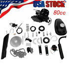 80CC 2 Cycle Gas Motor Motorized Engine Bike Bicycle Moped Scooter Kit RED