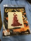 Cross Stitch KIT Scarlett OHara in Red Dress Leisure Arts Gone With the Wind