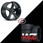 20 Gloss Black Wheels W Tires Fits Dodge Charger Challenger Magnum