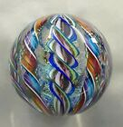 Tazza Glass Large Marble 32 Signed And Sold By The Artist