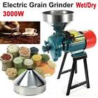 110V 3000W Electric Grinder Wet  Dry Feed Flour Mill Cereals Grain Corn Wheat