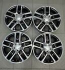 9189 JEEP COMPASS POLISHED GRAY 17 FACTORY OEM WHEELS SET 2017 2020 5VN86TRMAB