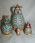Jim Shore Nativity Nesting Boxes Set Of 4 NEW ONLY OUT OF BOX FOR PICS