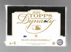 2020 TOPPS DYNASTY BASEBALL SEALED HOBBY BOX ALL CARDS NUMBERED TO 10 OR LESS
