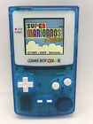 Nintendo Gameboy Color Light Clear Blue Edition IPS Backlight  Glass Screen