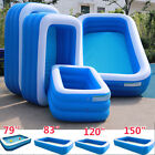 3Layer Inflatable Swimming Pool Family Kid Adult Water Play Fun Backyard 125FT