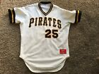 Vintage 1990s Bobby Bonilla Pittsburgh Pirates Authentic Jersey Rawlings 44