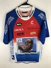 Vintage Cannondale Louis Armstrong Stamp Bike Jersey Shirt Usps XL Made In USA