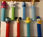 Lot of 8 Pez Dispensers Mickey Mouse Donald Duck Easter Trolls Genie BoPeep Vamp