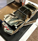 1 18 Knight Rider KITT Chrome Edition Silver Difficult to obtain Rare used