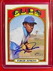 2021 Topps Heritage FERGIE JENKINS Real One ON CARD Autograph CUBS HOF