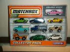 Matchbox 2009 Collector Pack 10 Pack With Exclusive Pink Cadillac