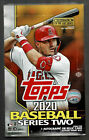 2020 TOPPS BASEBALL SERIES 2 FACTORY SEALED HOBBY BOX 24 PACKS 1 AUTO OR 1 RELIC
