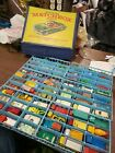 Lot of 72 Vintage 1960s 1970s Matchbox Lesney Car with case some tootsie toys