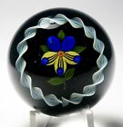 John Deacons 2007 Pansy in a Torsade Paperweight