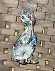 Millefiori solid Glass Cat Venetian HTF take a look  5 inch