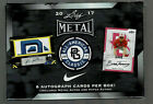 2017 LEAF METAL ALL-AMERICAN CLASSIC BASEBALL HOBBY BOX 8 AUTOS AND OR PATCHES