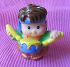 Fisher Price Little People LIL DRUMMER BOY NATIVITY CHRISTMAS FIGURE RARE