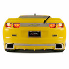 Trunk Lid Plate Synergy Green RS Inlay for 2010 2013 Camaro Polished