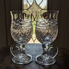 Waterford Crystal BOOK of KELLS Footed Irish Coffee Mugs Celtic Knot NEW 8 oz