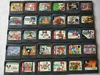 Whole sale Lot of 30 GameGear Game Gear GG Cartridge set Not tested d4020