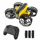 Mini Drone Hand Operated and Remote Control Nano Quadcopter for Kids 3 Battery