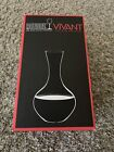 RIEDEL Vivant Series Clear Crystal Glass Balloon Wine Decanter 36oz Capacity