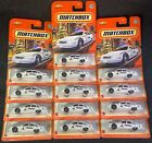 Matchbox 2021 Case T Chevy Caprice Classic Police Car RCMP White Lot of 13