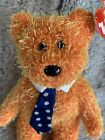 Ty Beanie Baby Pappa The Bear Tag Retired Plush Collectible Kids Toy Dad Gift