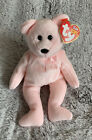 Ty Beanie Baby - CURE the Bear (Breast Cancer Awareness) Pink Plush Collectible