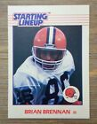 Brian Brennan 1988 STARTING LINEUP Card Browns Kenner NFL Hard to Find