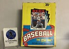 1986 Topps wax box from a sealed case outstanding condition