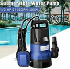 Sump Pump 1 2HP Clean Dirty Water Submersible Pump 400W Pump for Swimming Pool