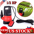 Sump Pump 1 2HP 2112GPH Submersible Clean Dirty Water Pump Pond Swimming 400W US