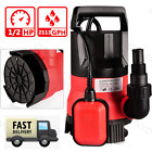 Submersible Water Pump Sump with Float Switch Portable Clean Dirty 05HP 400W