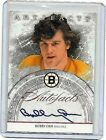 BOBBY ORR 2012-13 UPPER DECK ARTIFACTS AUTO-FACTS CERTIFIED AUTOGRAPH