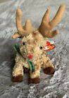 Ty Beanie Baby Reindeer Rudy Plush Collectable Retired kids Toys