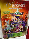 RARE Lemax Spooky Town Village Angel of Death Halloween Lighted Animated #34603