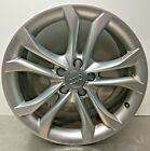 2013 AUDI S4 QUATTRO OEM RIM FACTORY WHEEL 18 X 8 5 DOUBLE SPOKE ALLOY CAP 12