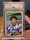 Eric Dickerson Rookie 1984 Topps PSA DNA AUTO Autograph Authentic