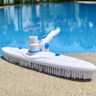 Vacuum Head Gym Cleaning Swimming Pool Brush Flexible Suction Stains Removal