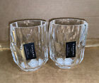 RARE SET of 4 TAHARI ACRYLIC CRYSTAL CLEAR TUMBLER GLASS 6 OZ LAST SET RaRe HTF